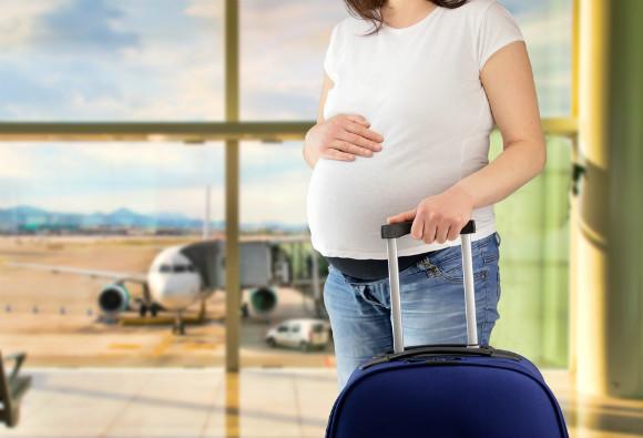 飛行機に乗る予定がある妊婦さん