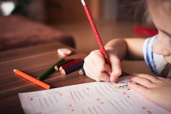 語学の習い事をしている子供