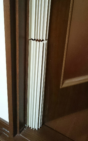 door cover bellows