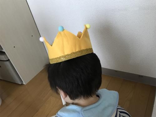 手作り王冠完成図