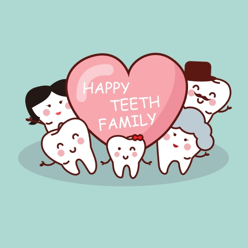 W500Q100_歯の家族