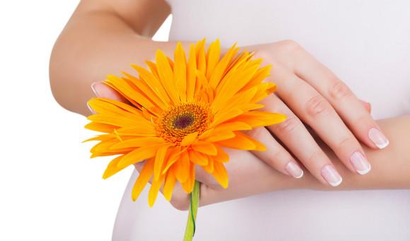 妊婦さんの爪