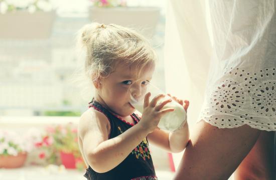 Children to drink milk