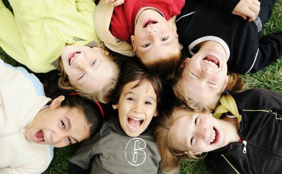子供会に入ってのびのび楽しんでいる子どもたち