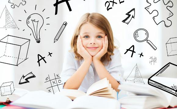 勉強が好きな子供は好奇心いっぱい