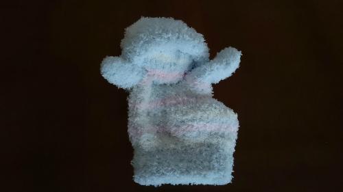 手袋人形のできあがり図