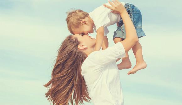 ママが子育て中に発想の転換で楽しくできた親子