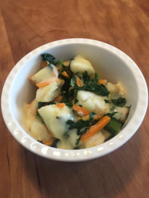 野菜入りパングラタン0817-2