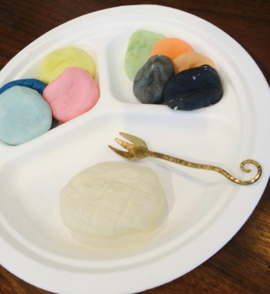 粘土でランチセットの作り方0722-18