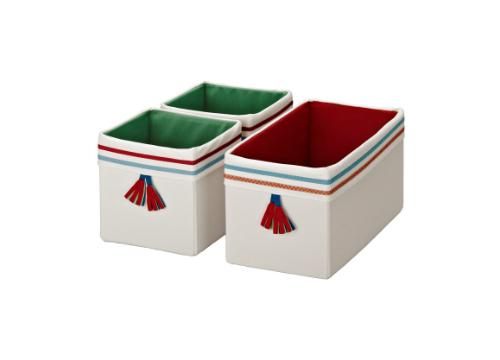 PYSSLINGAR ボックス, オフホワイト0822-21