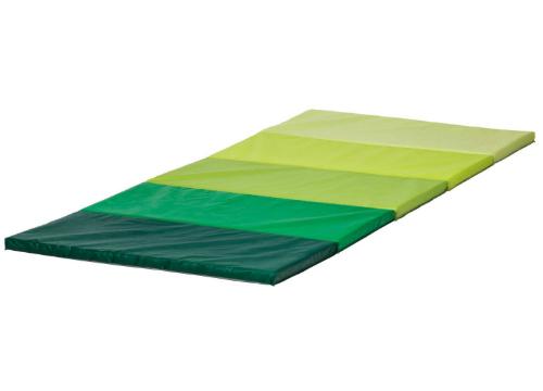 折りたたみ式ジムマット, グリーン -0909-15
