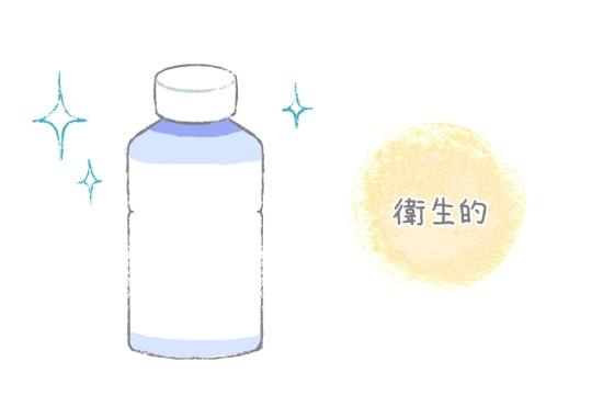 液体ミルクは衛生的