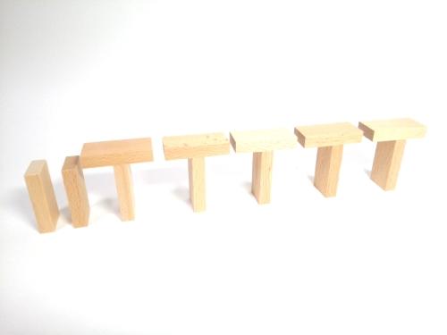 子供が遊べるドミノの立て方3
