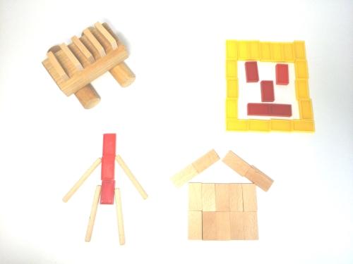 子供が遊べるドミノの立て方8