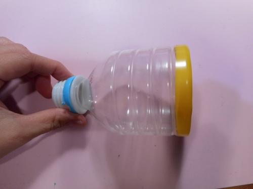 ペットボトルで作る簡単簡単空気砲の作り方の手順1