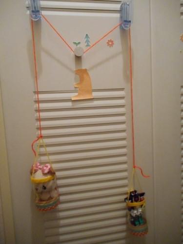 ペットボトルで作るエレベーターの作り方の手順3