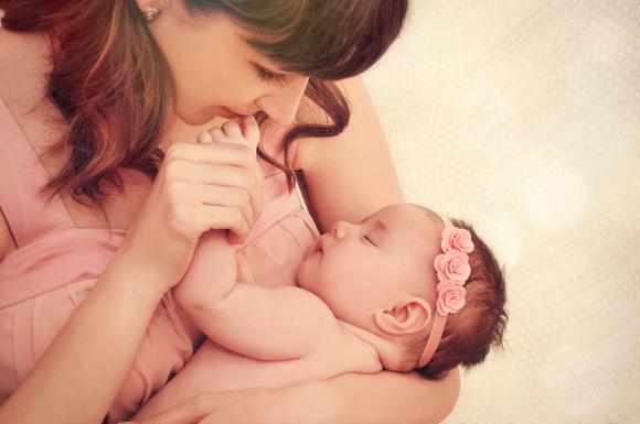 ターナー症候群の女の赤ちゃん