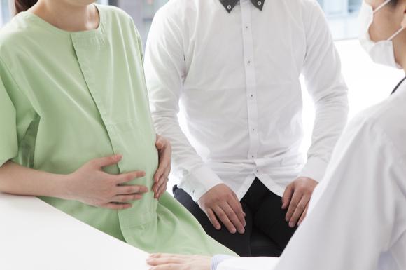 胞状奇胎を治療している妊婦さん