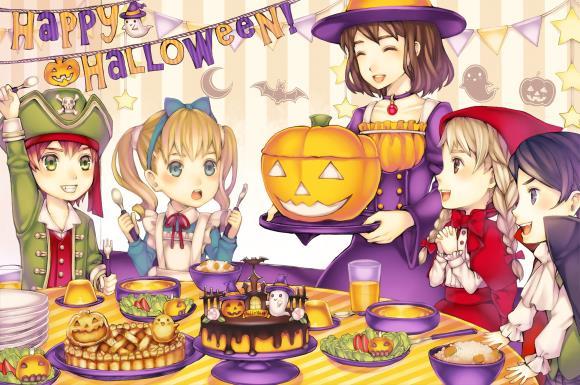 子供が喜ぶハロウィンのパーティーレシピ