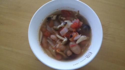 レンジで簡単小松菜と揚げの煮浸し