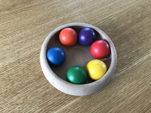 カラーボールの画像