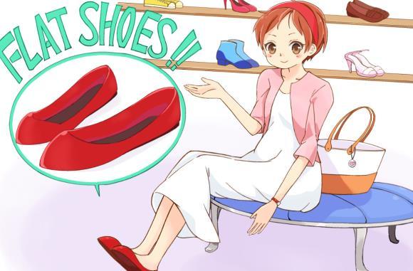 妊婦におすすめの靴はフラットシューズ
