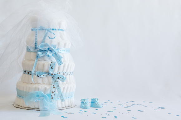 おむつケーキの画像