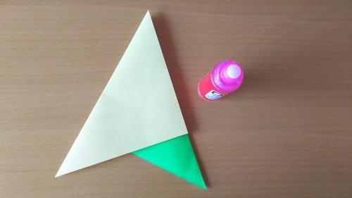 折り紙でお星さまを折る手順の画像4