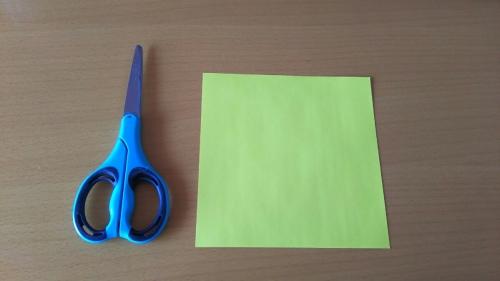 折り紙でお星さまBを折る手順の画像2