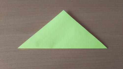 折り紙でお星さまBを折る手順の画像3