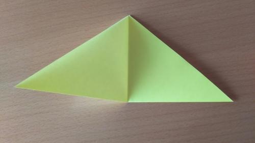 折り紙でお星さまBを折る手順の画像4