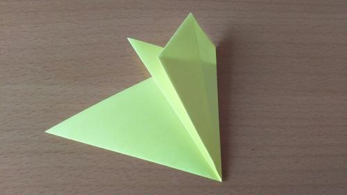 折り紙でお星さまBを折る手順の画像6