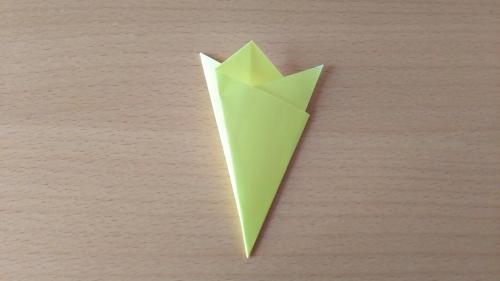 折り紙でお星さまBを折る手順の画像7