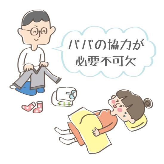 妊娠出産はパパの助けが必要