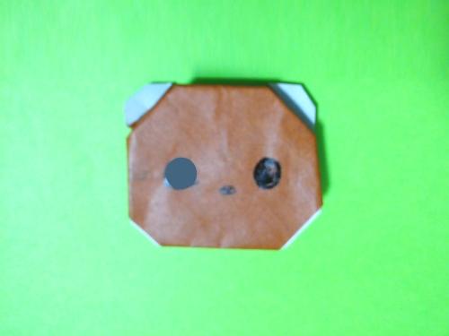 折り紙クマ