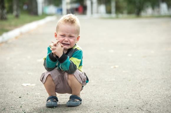 幼稚園を登園拒否している子供