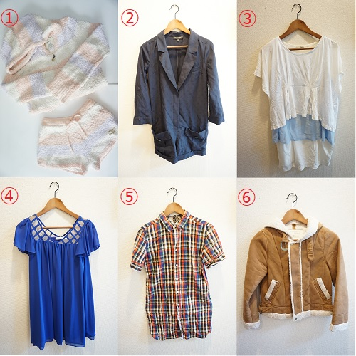 不用で売ろうと思っている服の画像1