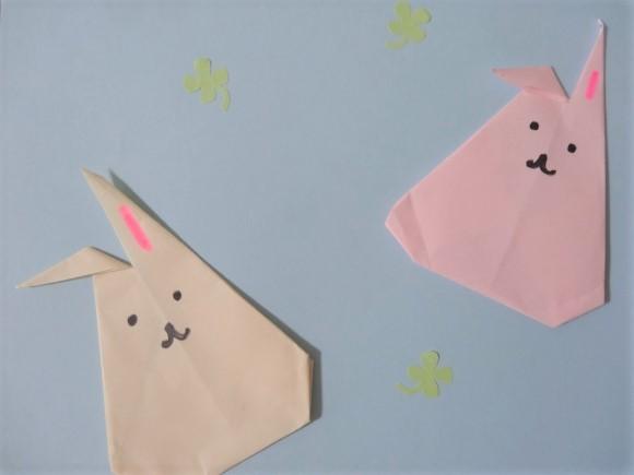 折り紙 うさぎ