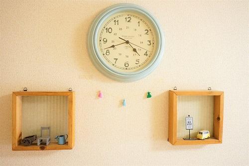 フォークで作ったタッセルをお部屋に飾りつけ