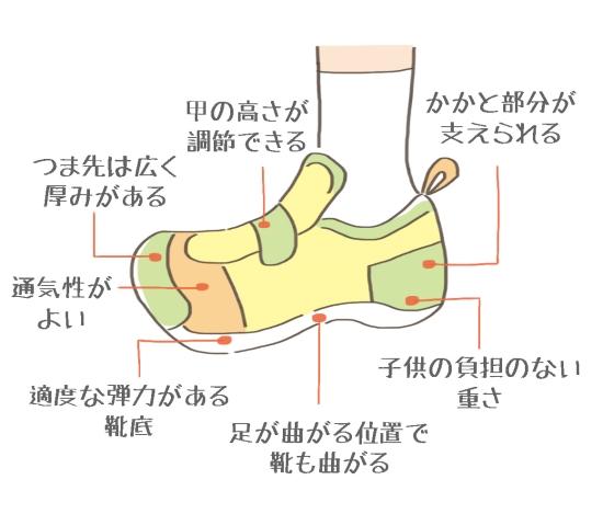 靴選びのポイント