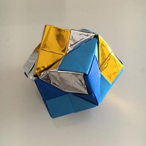 折り紙のくす玉の作り方手順の画像