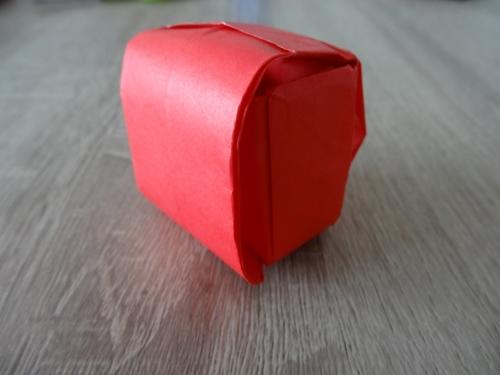 折り紙でランドセルの完成画像