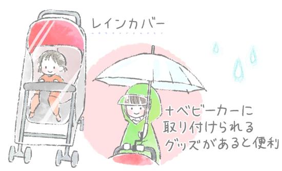 雨の日に便利なグッズ