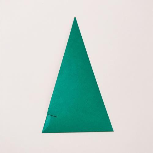 折り紙でベルを折る折り方の手順の画像