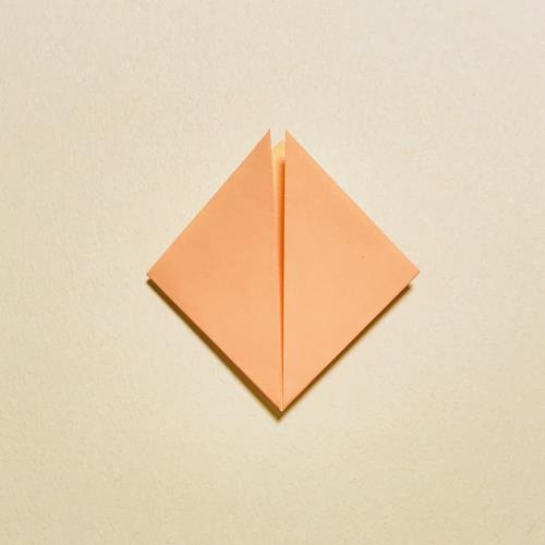 折り紙で作る星と星の子を折る手順