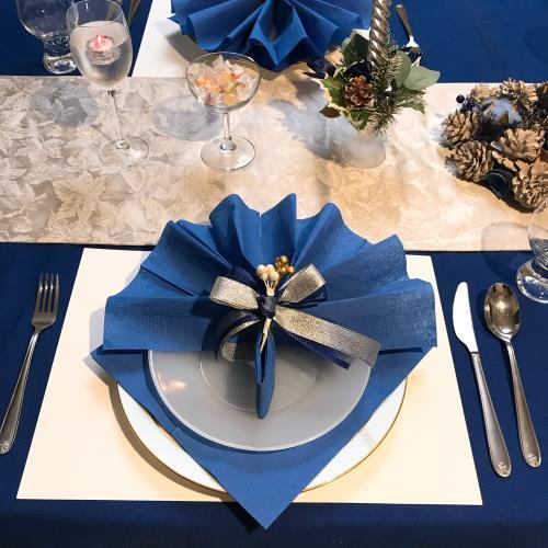 ママ友とのクリスマス会のテーブルコーデのやり方の画像