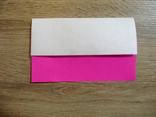 カップケーキを折り紙で折る折り方の手順画像