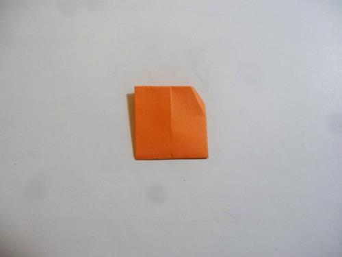 折り紙でお団子を折る折り方の手順画像