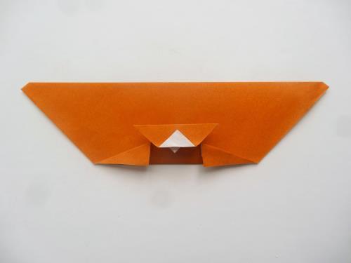 折り紙でポチ袋を作る折り方の手順の画像