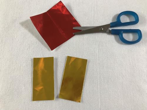 折り紙で指輪を折る折り方の手順画像